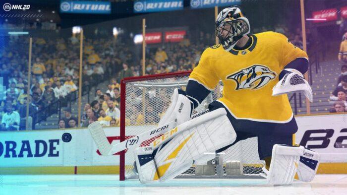 Купить NHL 20 PS4, русские субтитры